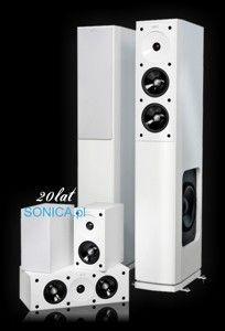 Zestaw kolumn 5.0 JAMO S 606 HCS 3 białe wysoki połysk [2000 zł]