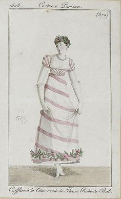 via Flickr Costume Parisien ca 1800
