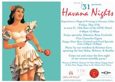 Havana nights theme... ideas.... rum, mojitos, cuban cigars, trio, cumbias.
