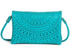 turquoise crossbody bag