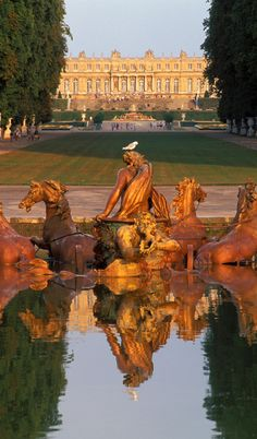 I know it's probably a tourist trap now but this place is on my bucket list. I must see Versailles in this lifetime.