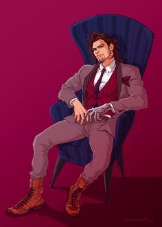 """stuffimgoingtohellfor:"""" temariart:"""" Bucky Barnes""""I dunno if I ever told this fanartist this but this art inspired the makeover montage in this fic and I just love Buck looking so SHARP here""""jfc this pushes more buttons than it should? Marvel Dc Movies, Marvel Vs, Disney Marvel, Marvel Memes, Avengers Movies, Bucky Barnes, Kingsman, Sebastian Stan, Marvel Tony Stark"""