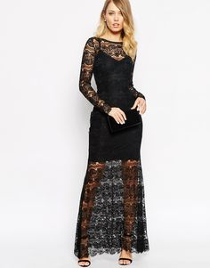 Body Frock Alexis Maxi Dress in Lace