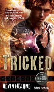 Tricked by Kevin Hearne is now available, Trapped is coming out in Novemberish.  If you haven't read any of his books, and you love the Dresden files and such, you must read these books. Starts with Hounded, Hexed and Hammered, then Tricked. There are a couple more shorts coming out this year before Trapped in November, as well.