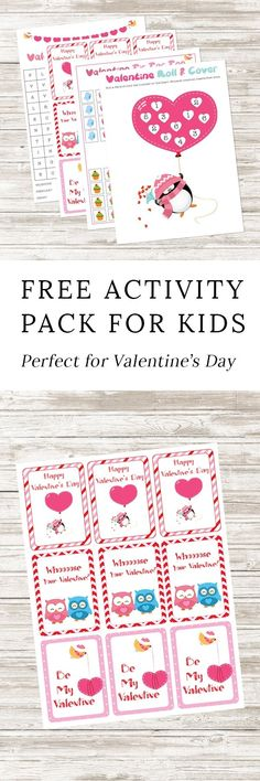 Perfect for school Valentine's Day parties, classroom fun, travel, or keeping busy at home, kids of all ages will enjoy this Free Printable Valentine's Day Activity Pack. Kinder Valentines, Valentines Games, Diy Valentines Cards, Valentines Day Funny, Valentine Crafts For Kids, Valentines Day Activities, Fun Activities For Kids, Valentine Ideas, Valentine's Day Printables