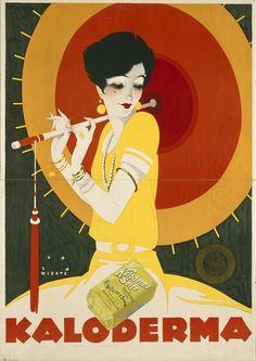 retro soap posters | Kaloderma Soap Vintage Poster Advertisement Art Prints by The Fine Art ...