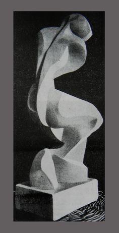 """Katarzyna Kobro """"Akt"""" / 1935"""
