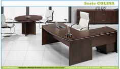 Muebles de oficina aporta la funcionalidad de una mesa operativa y el diseño de una mesa de dirección.