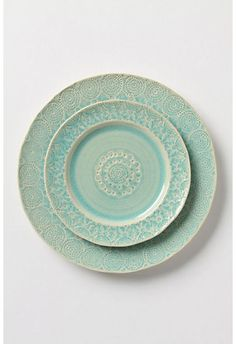 Mint contemporary dinnerware by Anthropologie