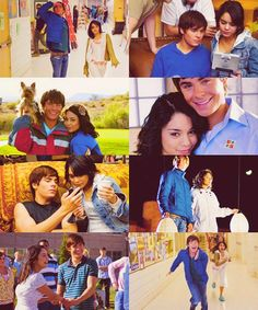 The ultimate couple goals😍😍I found my Troy Bolton🥰😘 Troy Bolton, Old Disney, Cute Disney, Disney Mickey, High School Musical 2, High School Couples, Zac Efron Vanessa Hudgens, Zac Efron Movies, Hig School