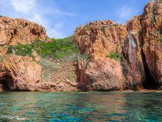 Réserve naturelle des calanque de piana en Corse