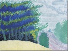 Milton Avery - Mountains And River Poster