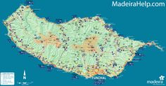 Madeira Island Map See map details From madeirahelp.com