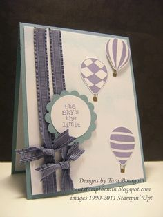 Stampin' Up! SU by Tara Bourgoin, Can't Stamp the Rain