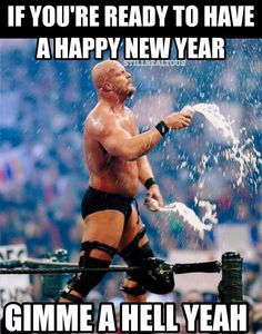 Happy New Year! OH HELL YEAH