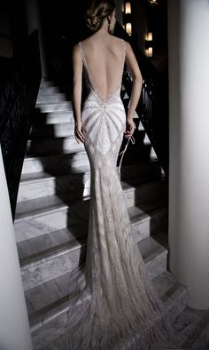 Deep Back Wedding Gown: Galia Lahav ~ Sexy Wedding Dress