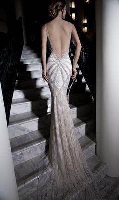 Deep Back Wedding Gown: Galia Lahav ~ Sexy Wedding Dress