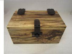 Decorative Box Hinges Padauk With Copper Hinge On Spalted Congo Teak Box Danielp