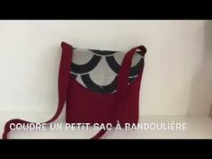 Sew a small shoulder bag – Tuto Couture Madalena – … – Bag World Diy Pouch Bag, Pencil Case Tutorial, Couture Bags, Patchwork Bags, Small Shoulder Bag, Purses And Bags, Sewing, Women, Fabric Purses