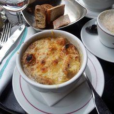 Die beste Zwiebelsuppe von Paris