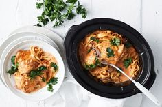 How do you cook slow cooker chicken diane recipe? get instruction detail. Weve made familyfavourite chicken Diane even easier by cooking it in the slow cooker you only need minutes to prepare it! Best Slow Cooker, Slow Cooker Chicken, Slow Cooker Recipes, Crockpot Recipes, Cooking Recipes, Slow Cooking, Cooking Tips, Chicken Diane Recipe, Pasta Recipes