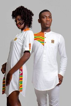 Most beautiful senator styles for couples, classic couples rock matching senator wears and designs Couples African Outfits, Couple Outfits, African Attire, African Wear, African Women, African Dress, African Inspired Fashion, African Print Fashion, African Fashion Dresses