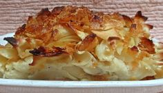 This is the kugel to end all kugels. I mean it. I am a kugel-eating expert, if only because when I grew up my grandmother and mom made salty kugel stuffed with mushrooms and onions and it was only when I was grown, married and with kids that I had my first taste of this. That taste was a transforming moment. My friend Susan brought this dish to my annual Break-the-fast (she got the recipe from her friend Linda and I don't know where Linda got it). For years after that I have tasted more…