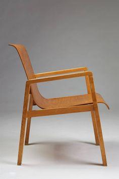 Chair designed by Alvar Aalto for Artek, Finland. 1950's image 4