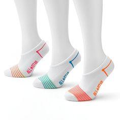bf55c2e3c16 Converse Made For Chucks 3-pk. Striped No-Show Socks