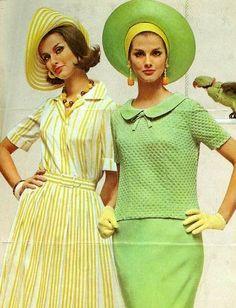 Lemon & Lime 1962 vintage fashion