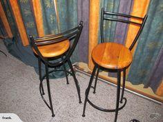 Wrought Iron Bar Stools | Trade Me