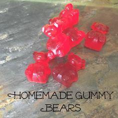 Homemade Gummy Bears Recipe on Yummly. @yummly #recipe