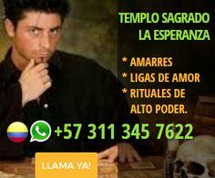 AMARRES, LIGAS DE AMOR Y RITUALES DE ALTO PODER llama ahora mismo +57 311 345 7622 #clasiesotericos #amarres #vudu http://colombia.clasiesotericos.com/brujeria/brujeria-para-enamorar/amarres-ligas-de-amor-y-rituales-de-alto-poder-consulta-con-el-templo-sagrado-la-esperanza_56729