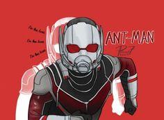 Ant-man by pencilHead7