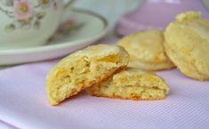 Scons de limón Krispie Treats, Rice Krispies, Muffin, Breakfast, Desserts, Food, Marmalade, Juices, Deserts