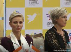 Princess Charlene and Princess Laurentien