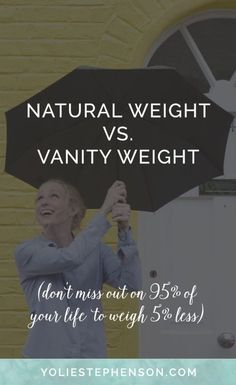 How to let go of the scale and find your natural happy weight. Click through...