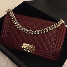 """Chanel """"Boy"""" bag - Anastassia Krez"""
