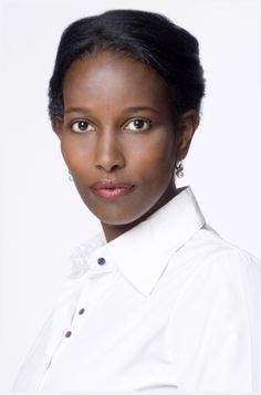 Ayaan Hirsi Ali, Somali-Dutch-American feminist activist known for her critical views of female genital mutilation and Islam. She has written an autobiography titled Infidel. She currently teaches Government Studies at Columbia University.