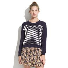candydot pullover / madewell