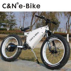 2017 New 48v 3000W Snow fat E-bike Electric Mountain Bike/Electric Bike/Electric bicycle