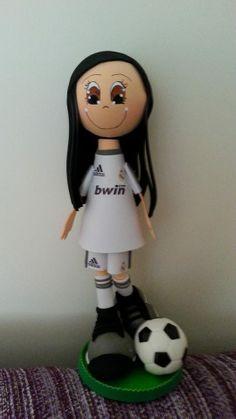 Futbolista Niña Real Madrid