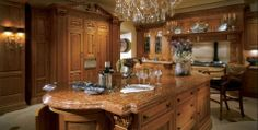 My absolute dream kitchen would be designed by Clive Christian!