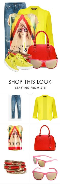 """""""Bright Blazer for Fall (OUTFIT ONLY!) (2)"""" by queenrachietemplateaddict ❤ liked on Polyvore featuring White House Black Market, City Chic, Amrita Singh, Polaroid, ECCO and plus size clothing"""