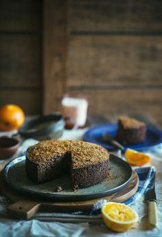 Gluten Free Karidopita-Walnut Cake