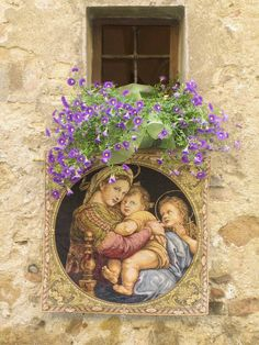 Decoration for Tuscan festival - Pienza, Siena