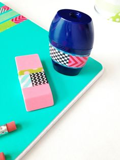 Washi for Back to School Supplies