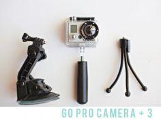 Go Pro camera accessories
