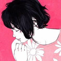 Ilya Kuvshinov @kr0npr1nz Flower Bed  Cool...Instagram photo   Websta (Webstagram)