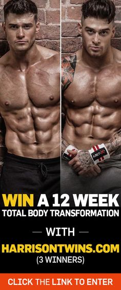 Win A 12 Week Total Body Transformation Program (£200 / $295 Value)